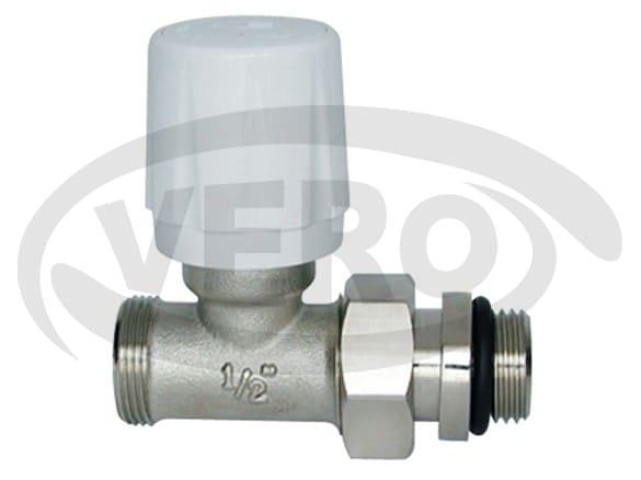 Zawór termostatyczny prosty na złączkę Pintossi