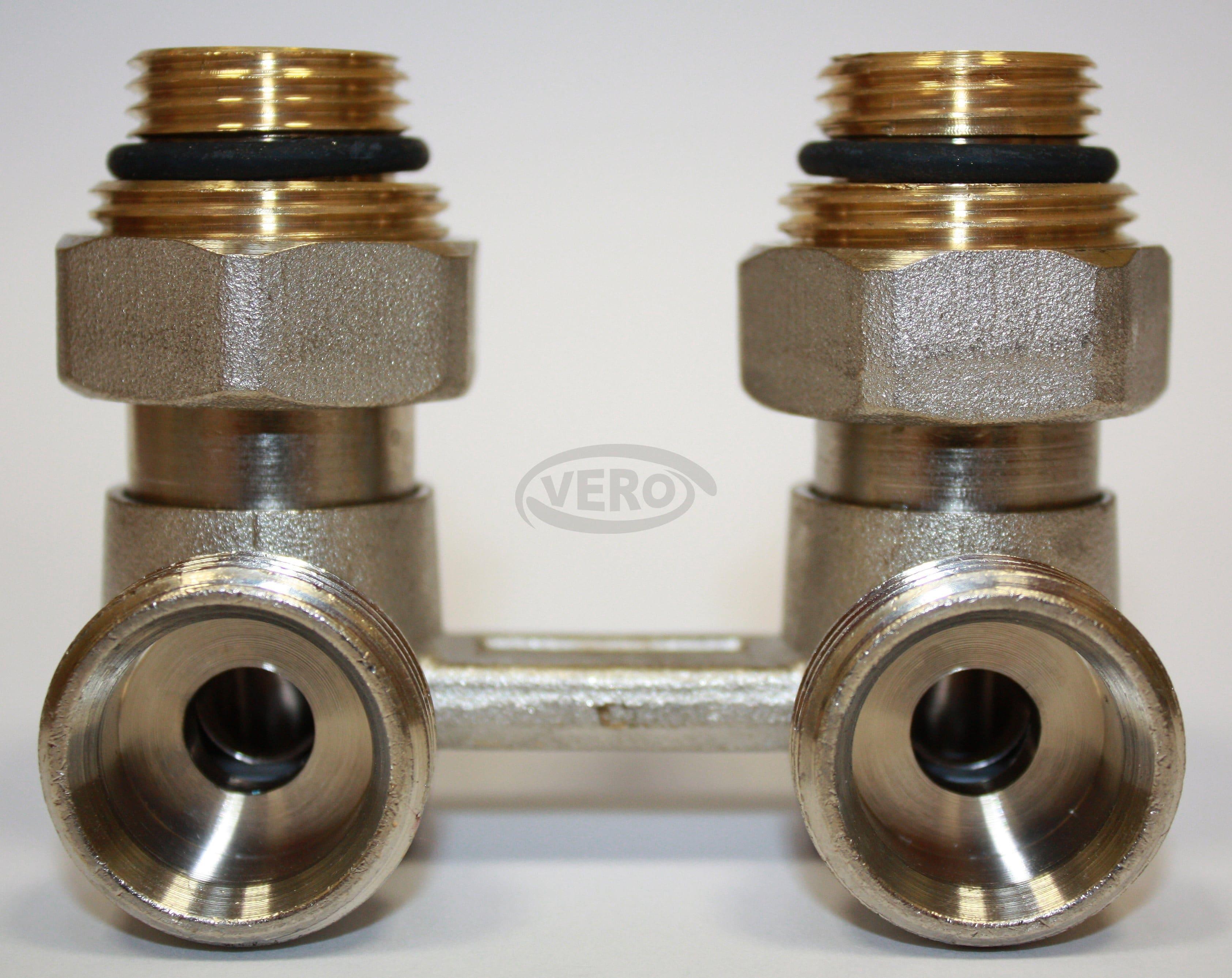 Zawór grzejnikowy zespolony typ H kątowy Vero