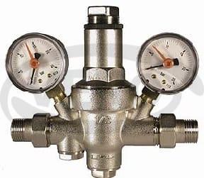 """Reduktor ciśnienia typ """"Ciężki"""" z wbudowanym filtrem i manometrami"""