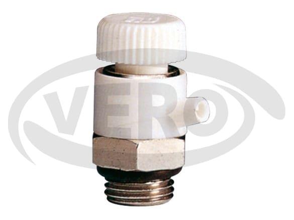 Grzejnikowy, ręczny zawór odpowietrzający z możliwością regulacji + o-ring