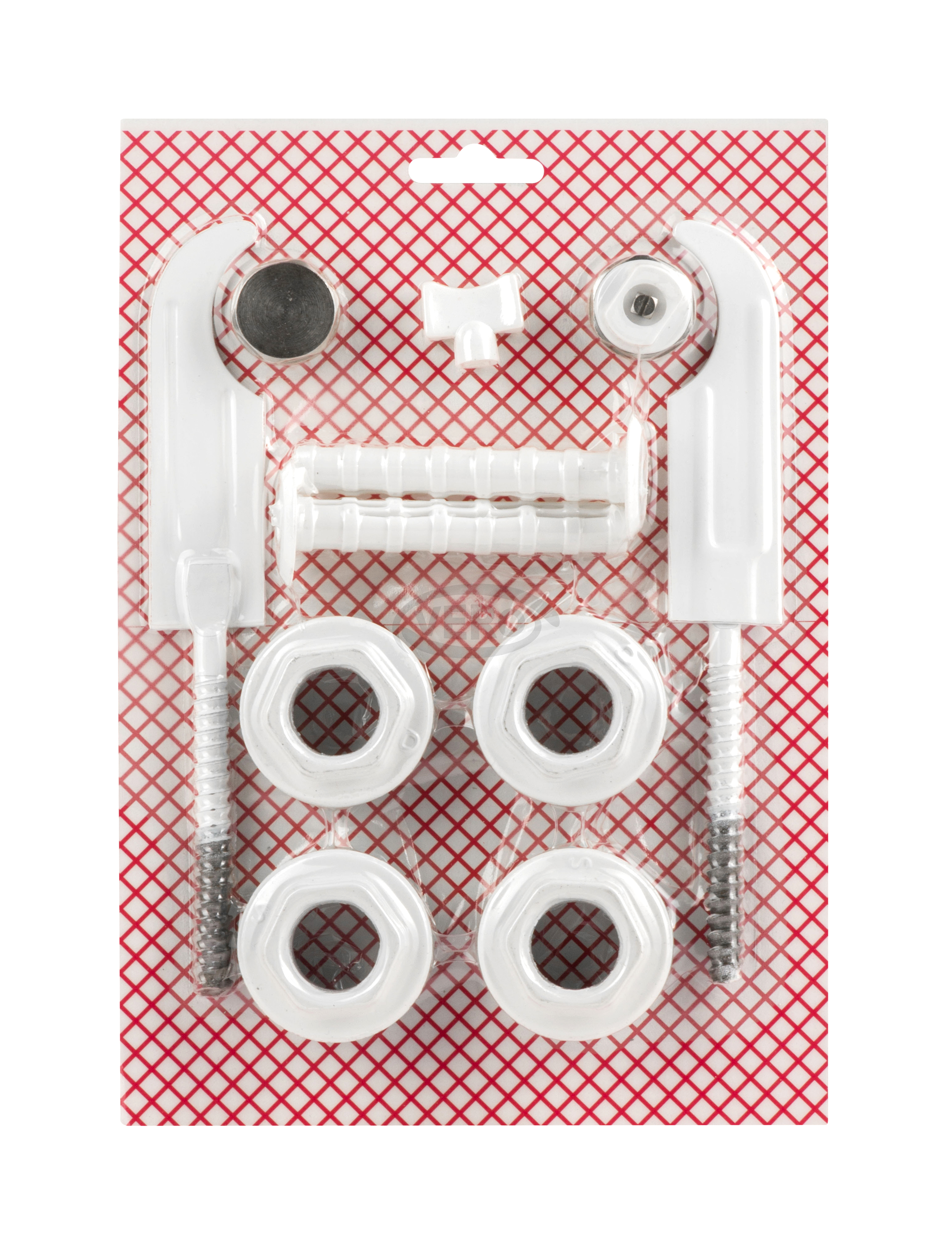 Pakiet Korków Grzejnikowych z Uszczelką Fibrową + Plastikowy kluczyk + Haki grzejnikowe